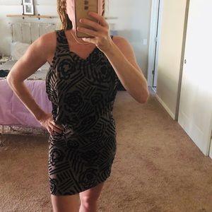 BCBG form fitting dress